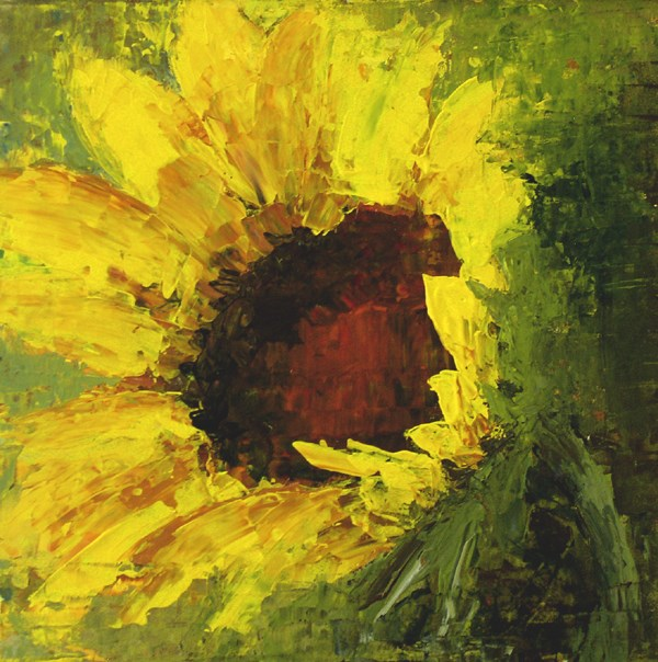 """Sunflower"" original fine art by Anna Vreman"