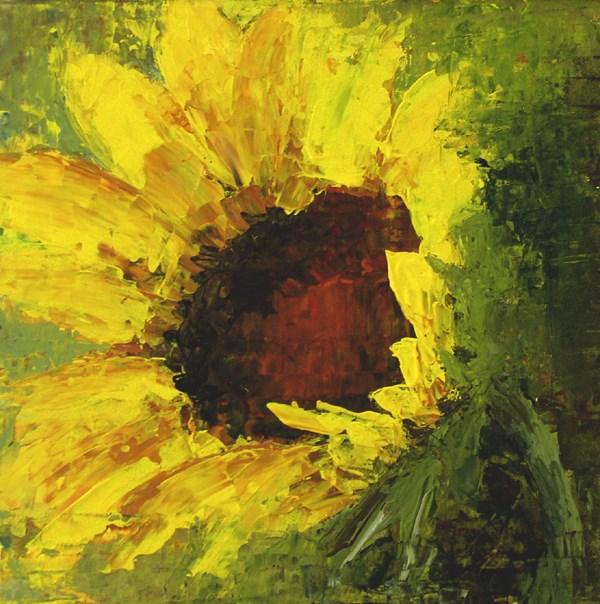 """""""Sunflower"""" original fine art by Anna Vreman"""