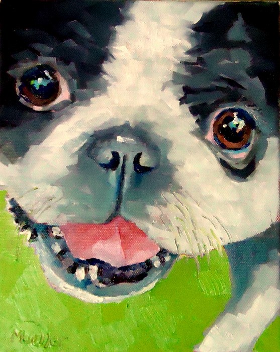 """""""I Know My Mother Loves Me"""" original fine art by Laurie Mueller"""
