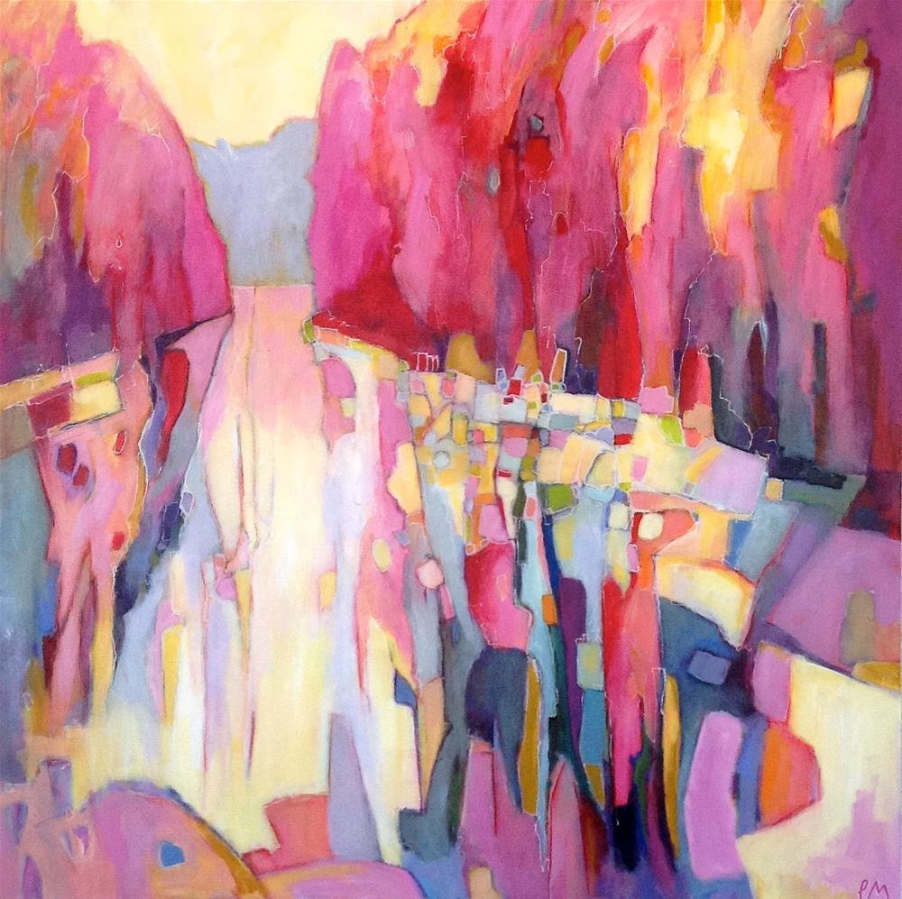 """Scorcher"" original fine art by Patricia MacDonald"