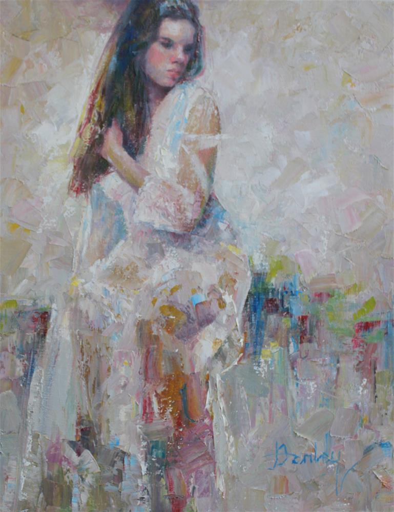 """Evening Reverie"" original fine art by Denise Henley"