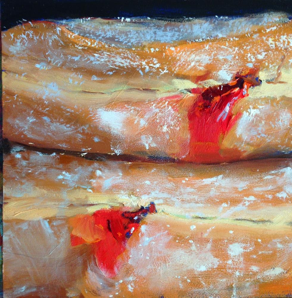 """""""Be Still, My Heart, 6x6 in Oil Painting by Kelley MacDonald"""" original fine art by Kelley MacDonald"""