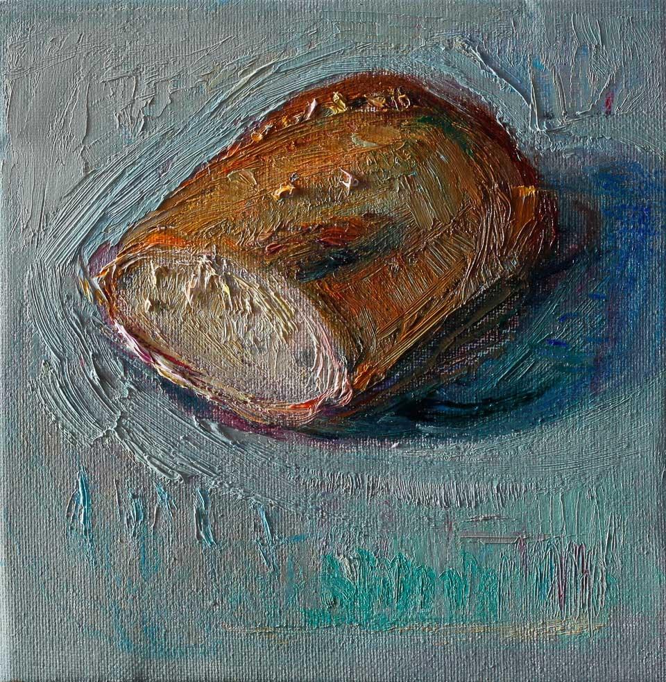 """Bread"" original fine art by Anna Fine Art"