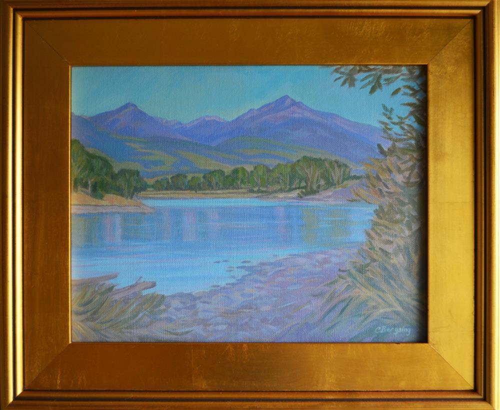 """Mallard's Rest"" original fine art by Cathy Bergsing"