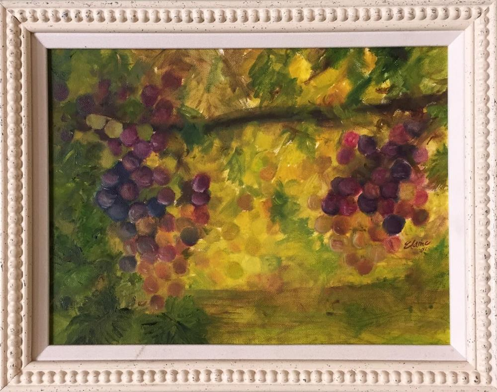 """""""Fruits of Our Labor"""" original fine art by Elaine Ford"""