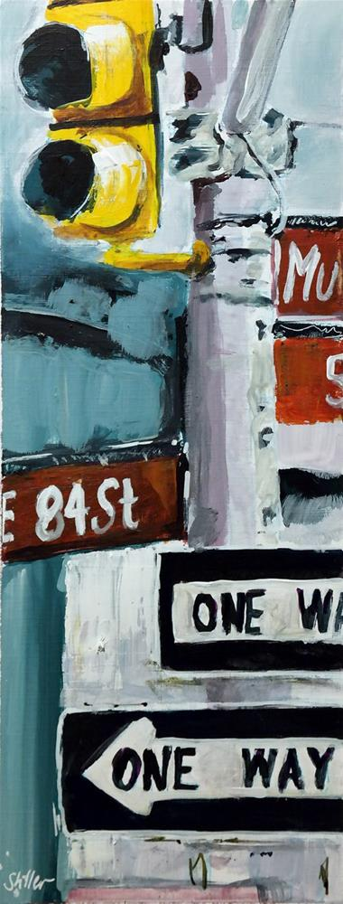"""2371 One Way plus One Way macht Two Ways"" original fine art by Dietmar Stiller"
