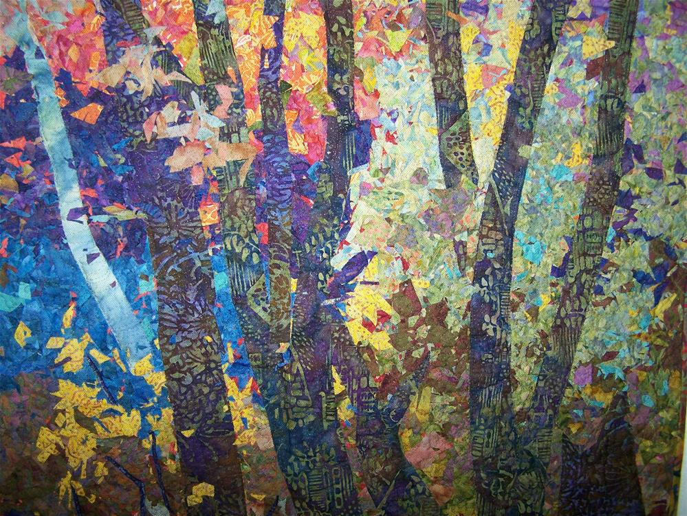 """Morrison's Woods #2"" original fine art by Joan Reive"