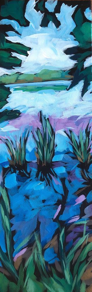 """Long Tall Hiawatha"" original fine art by Kat Corrigan"