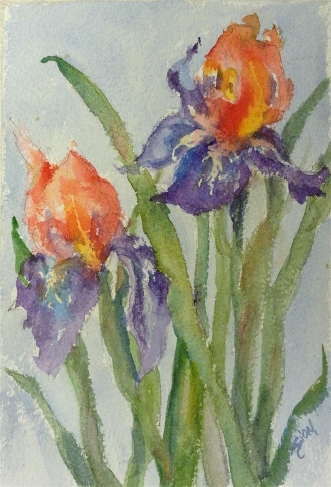 """Summer Breeze"" original fine art by Sue Dion"