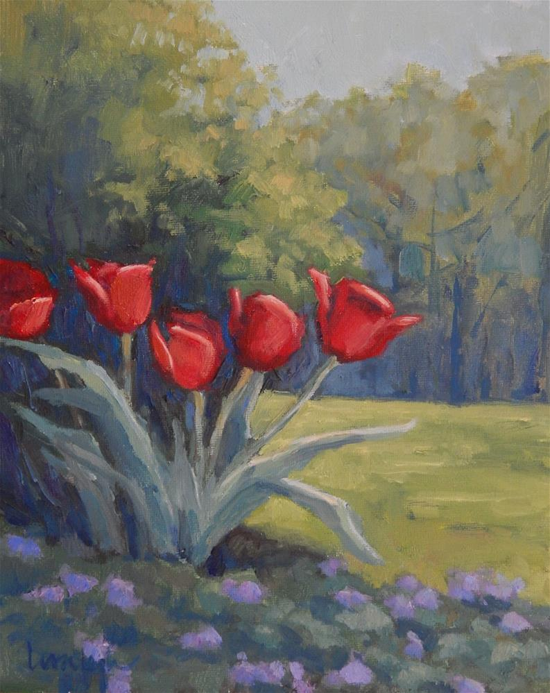"""Late Bloomers"" original fine art by Lisa Kyle"