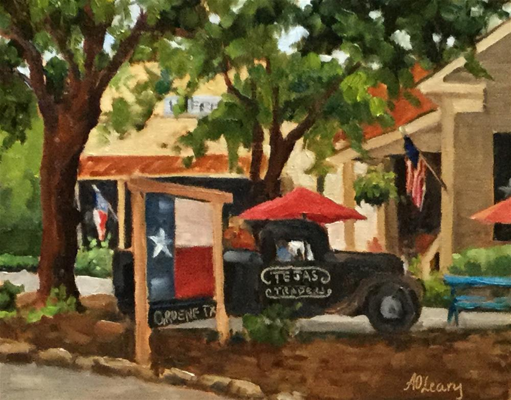 """""""Tejas Delivery"""" original fine art by Alice O'Leary"""