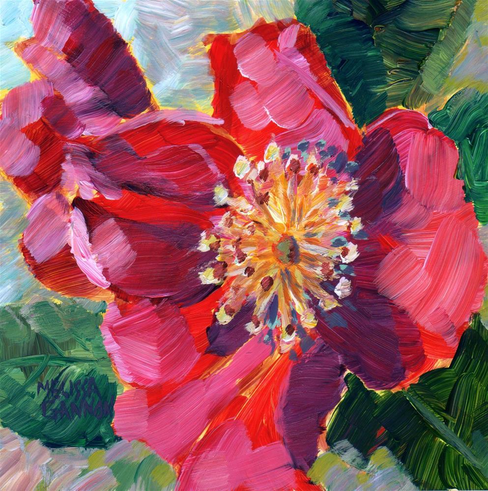 """Rose in Spring"" original fine art by Melissa Gannon"