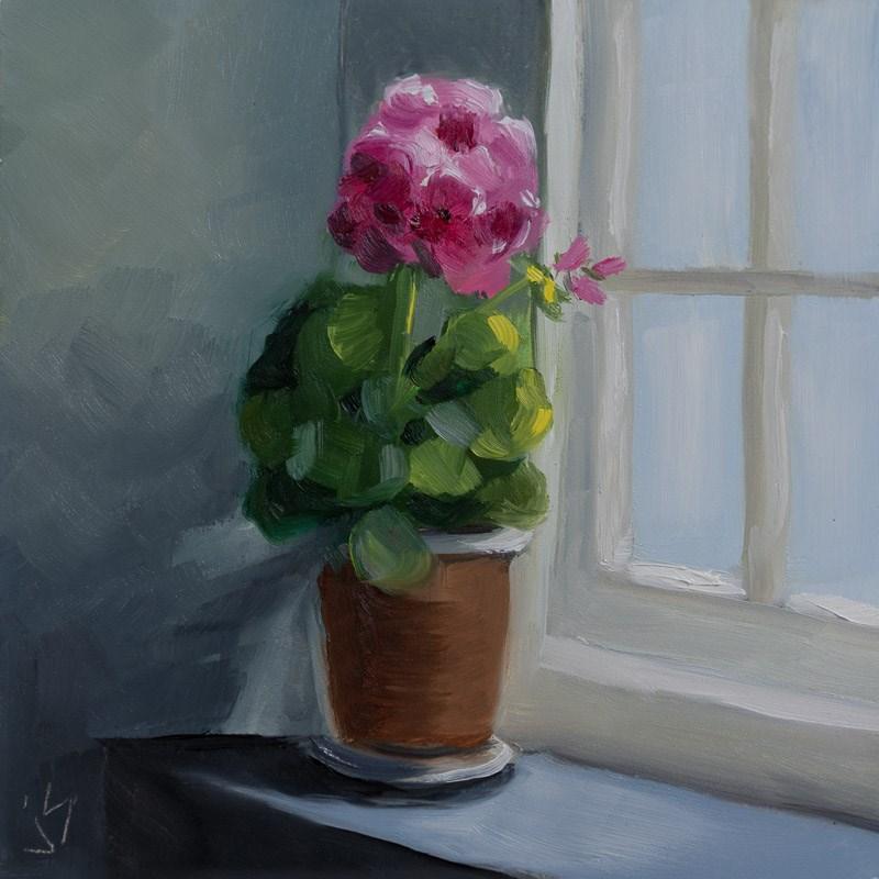 """""""Crofter's Window"""" original fine art by Johnna Schelling"""