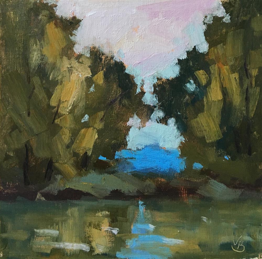 """Autumn at Marshall Island"" original fine art by Victoria  Biedron"