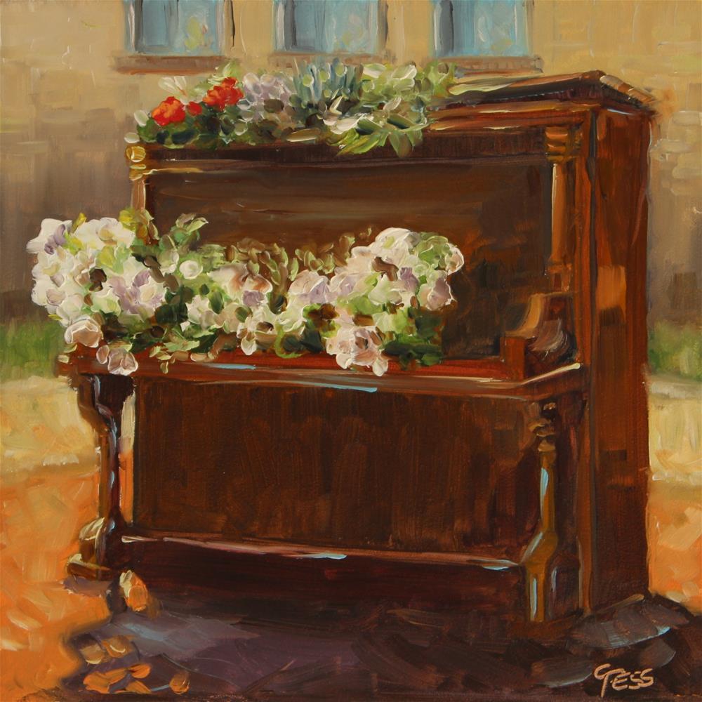 """When The Music's Over- The Doors"" original fine art by Tess Lehman"
