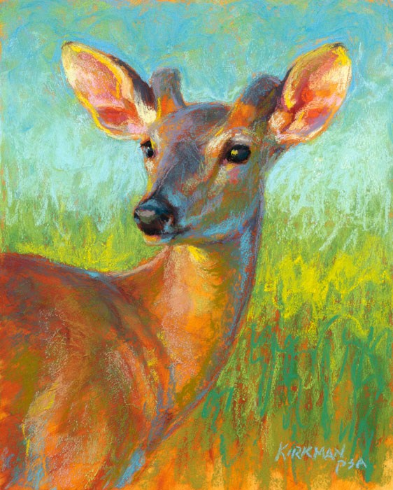 """Young Buck"" original fine art by Rita Kirkman"