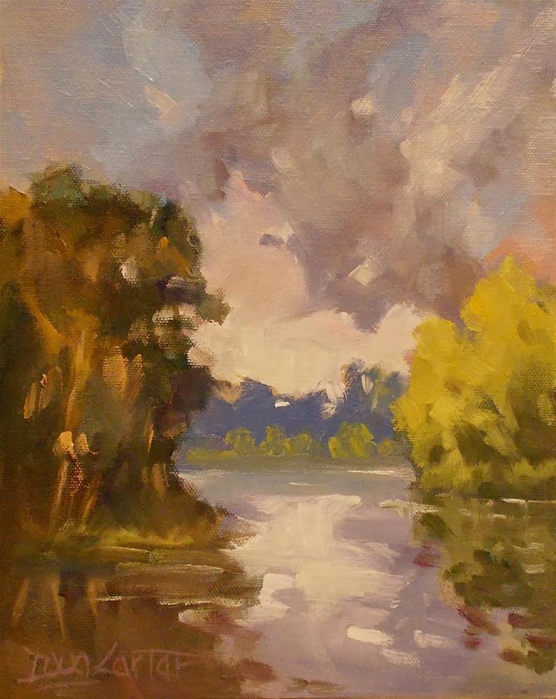 """SUMMER DREAMS"" original fine art by Doug Carter"