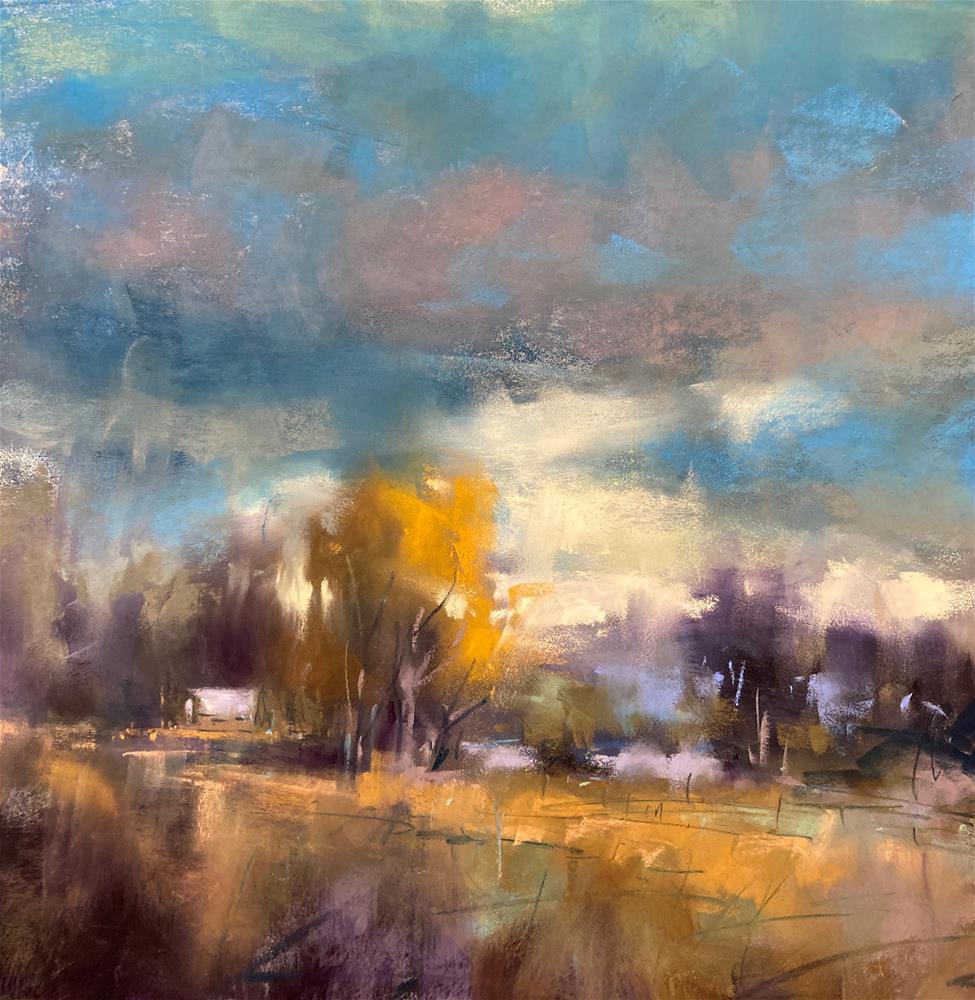 """Blue Storm"" original fine art by Marla Baggetta"