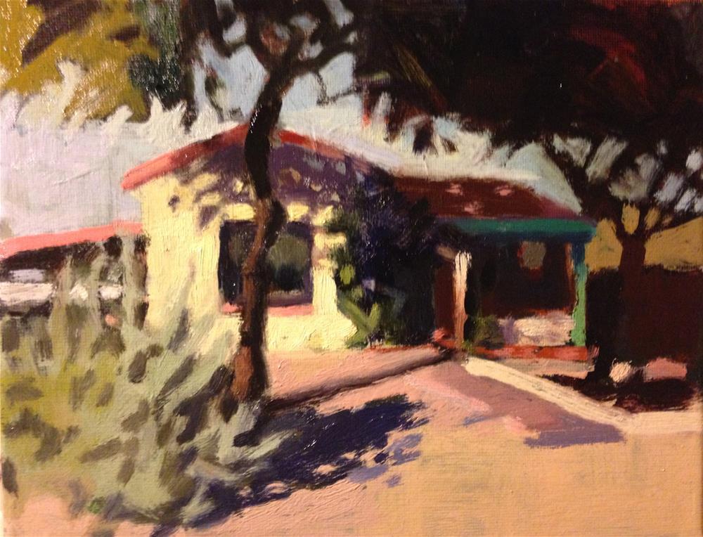"""""""Sun and Shade"""" original fine art by Pamela Hoffmeister"""
