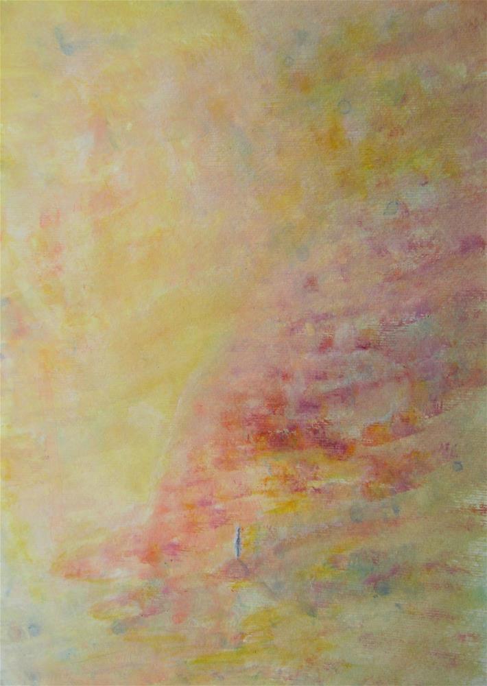 """""""Autumn Walk"""" original fine art by Alina Frent"""