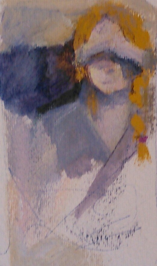 """Searching"" original fine art by Ann Rudd"