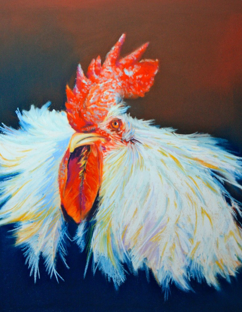 """Cooper"" original fine art by Jill Bates"