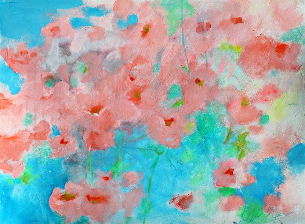"""California Poppies"" original fine art by Kerri Blackman"
