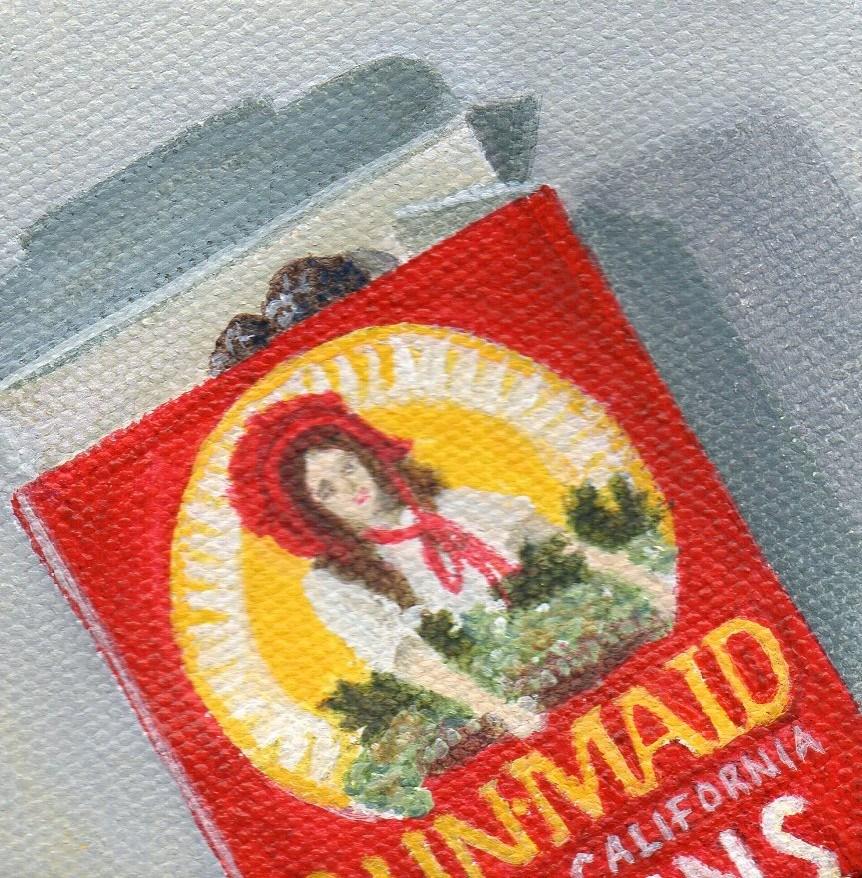 """Pocket Snack"" original fine art by Debbie Shirley"