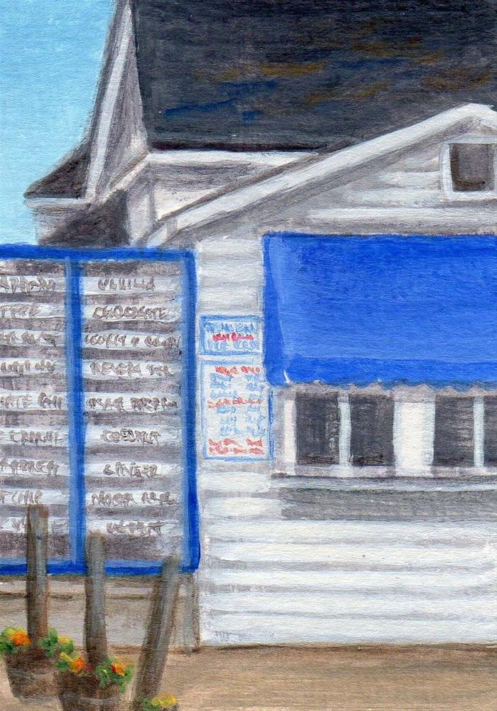 """Summer Treat"" original fine art by Debbie Shirley"