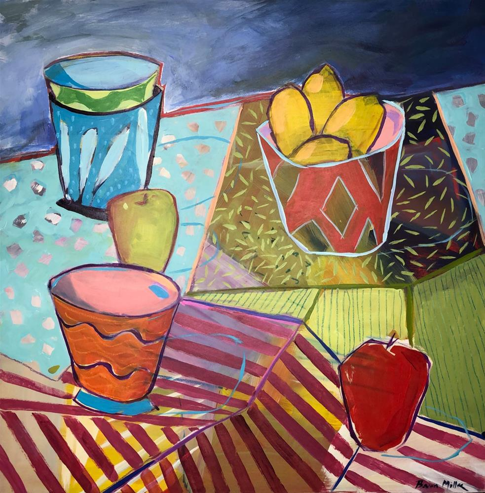 """""""1193: Setting the Table, Revised"""" original fine art by Brian Miller"""