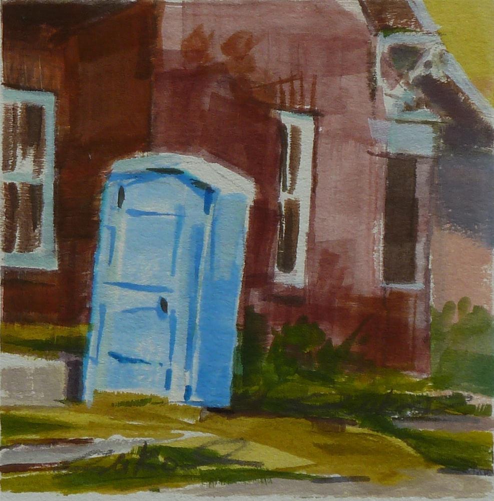 """""""Remodel"""" original fine art by Ron Ferkol"""