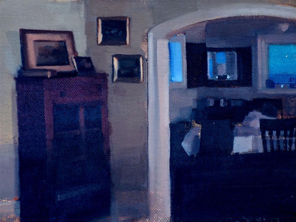 """Living Room Archway (no.118)"" original fine art by Michael William"