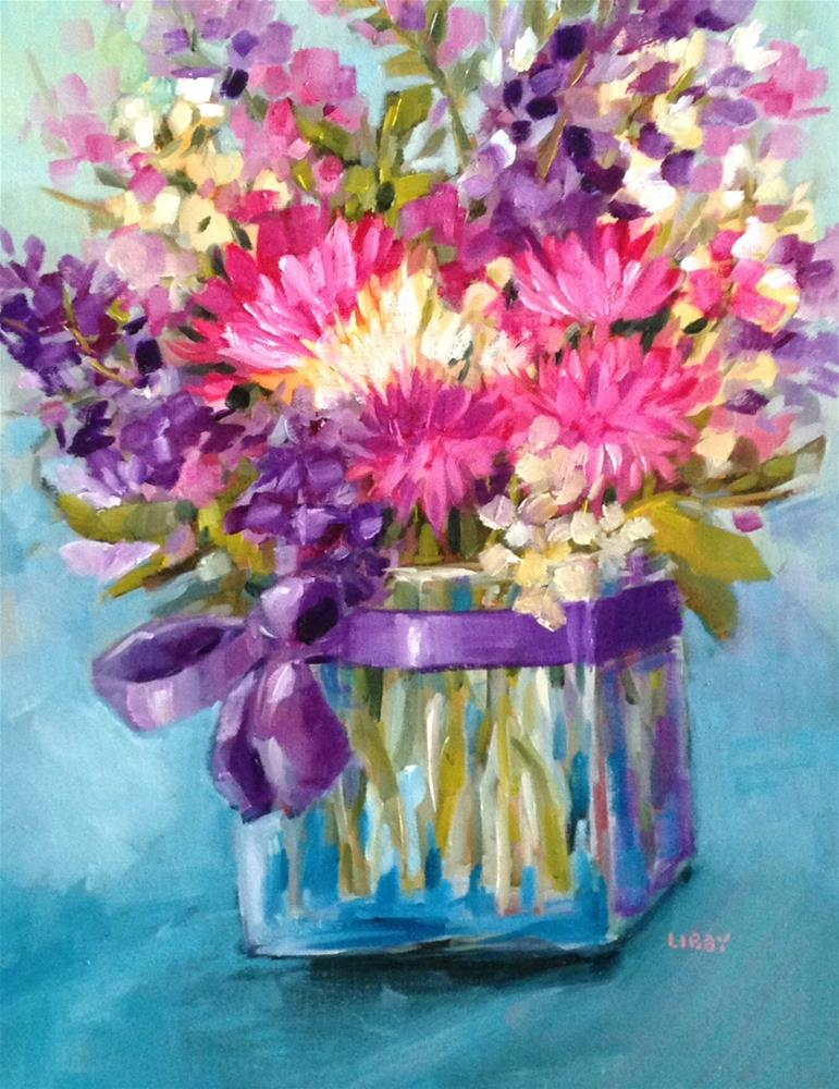 """""""The Ribbon"""" original fine art by Libby Anderson"""