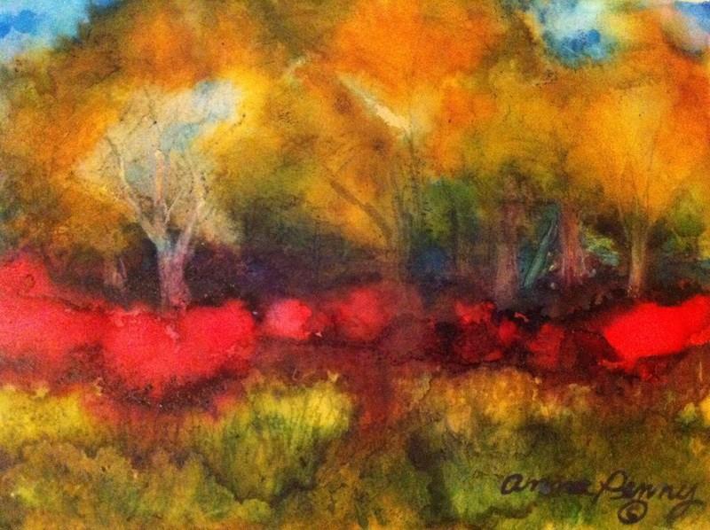 """Let the Sun Shine"" original fine art by Anna Penny"