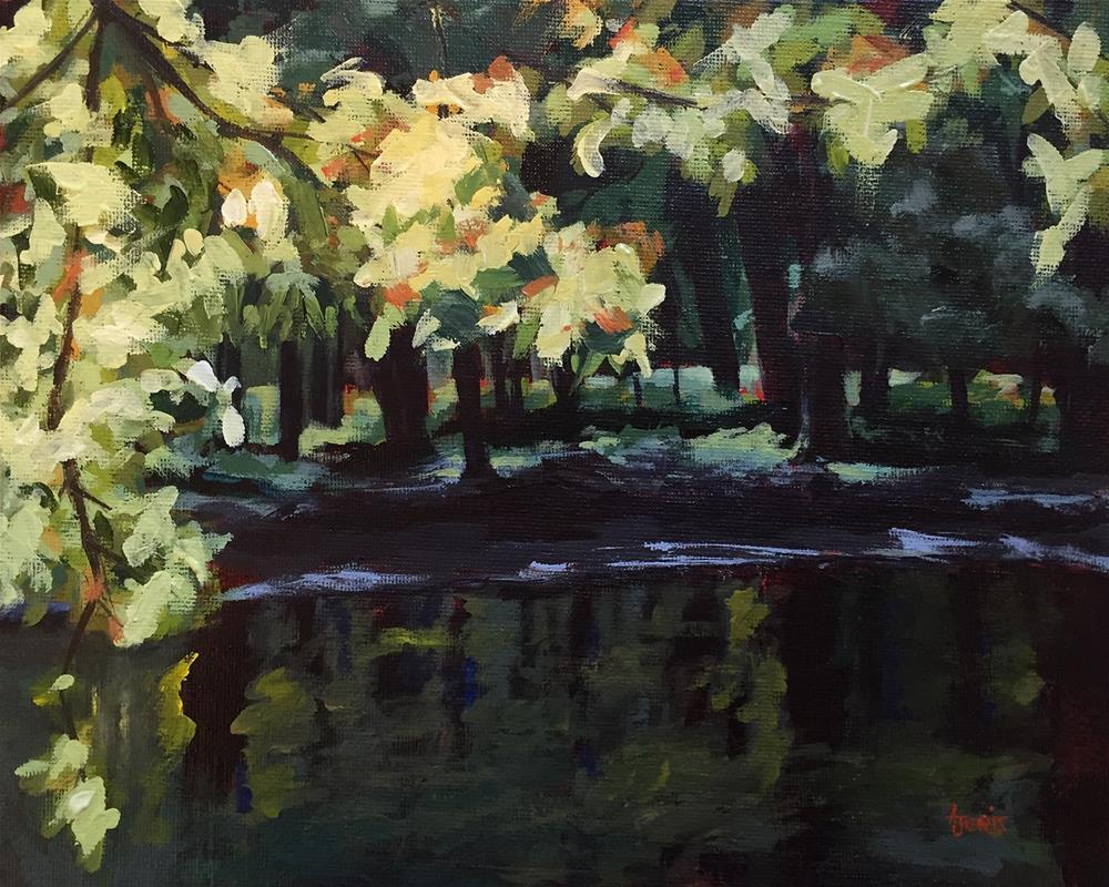 """""""Brilliant Branches"""" original fine art by Andrea Jeris"""