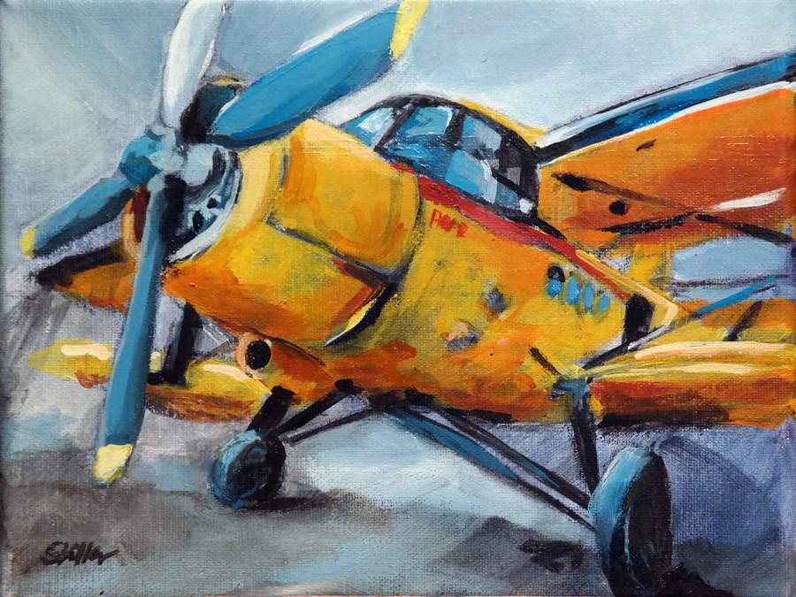 """""""1601 Antonow 2R"""" original fine art by Dietmar Stiller"""