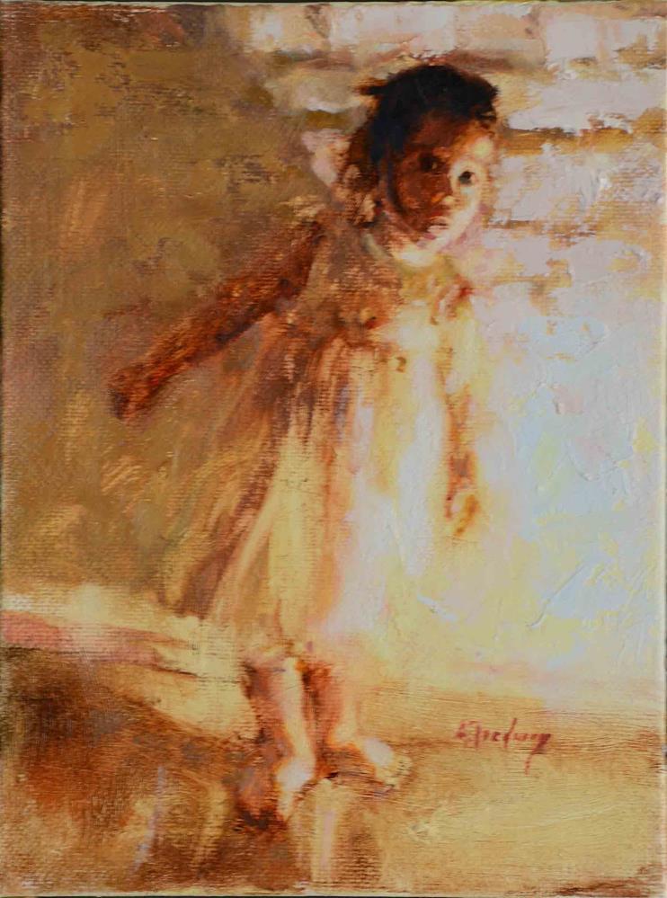 """""""A Little Peek"""" original fine art by alicia tredway"""