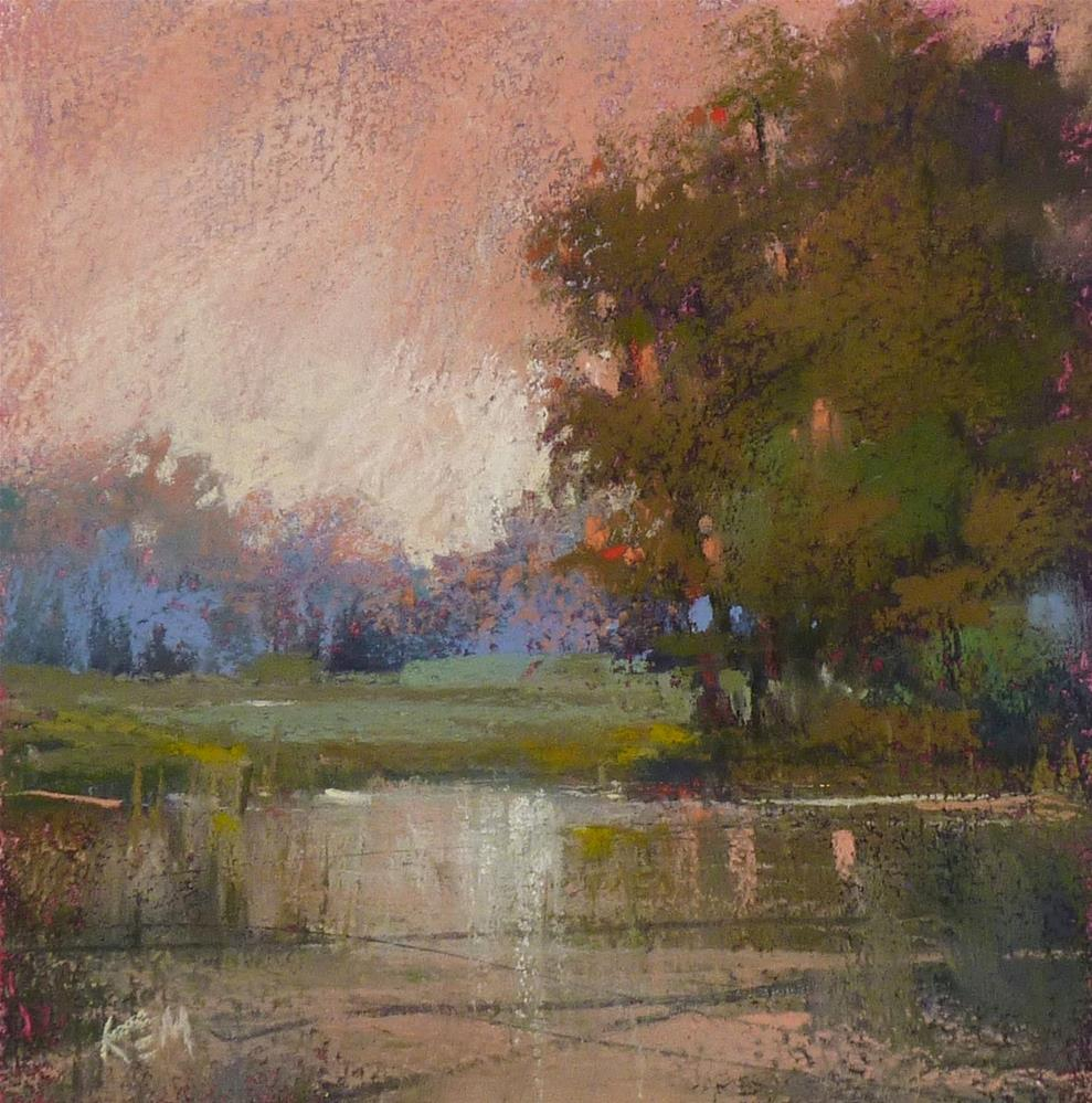 """""""Framing a Pastel Painting with Spacers"""" original fine art by Karen Margulis"""