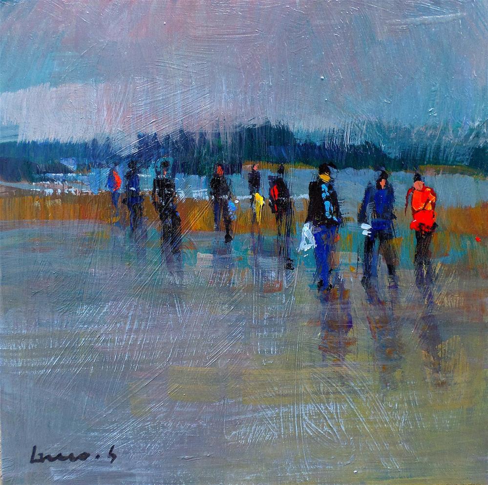"""low tide"" original fine art by salvatore greco"