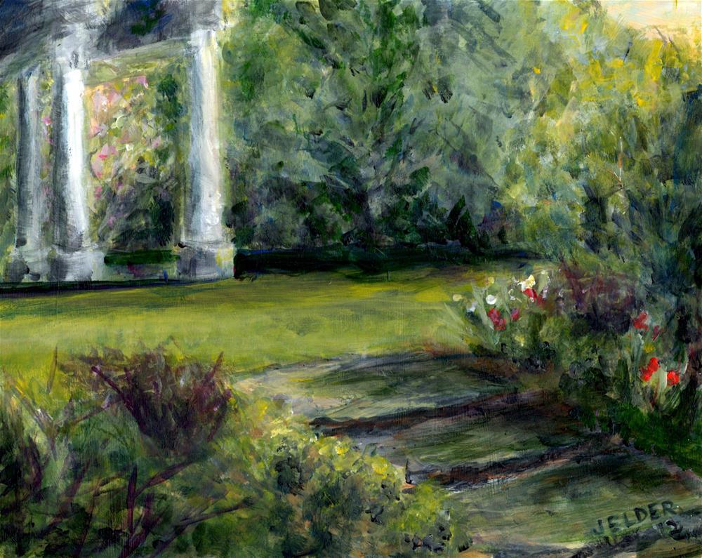 """""""Beecher Hill"""" original fine art by Judith Elder"""
