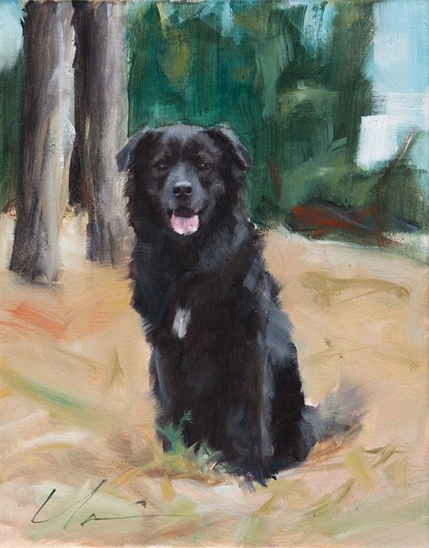 """Bear"" original fine art by Clair Hartmann"