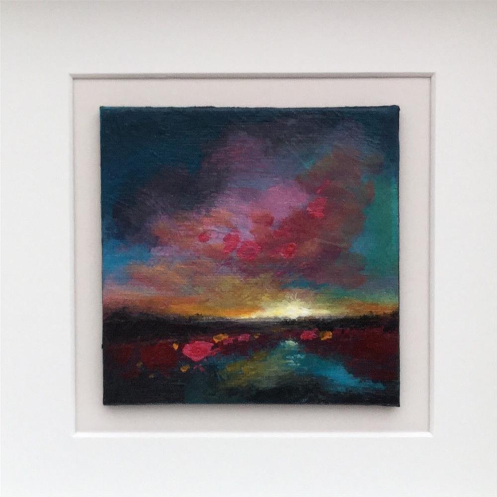 """Mini sunset"" original fine art by Jane Palmer"