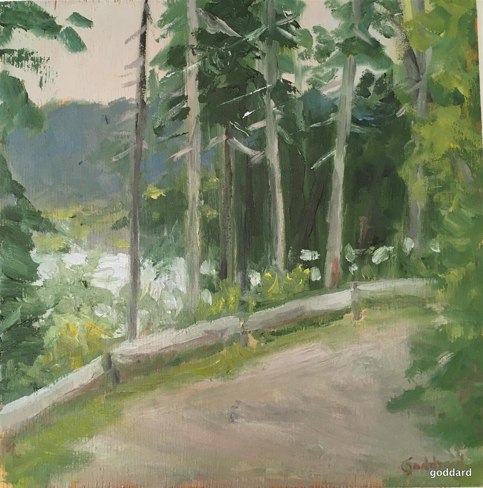 """Glimpses of Paradise"" original fine art by Shari Goddard Shambaugh"