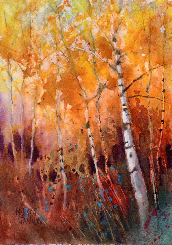 """Aspen Moves"" original fine art by Melissa Gannon"