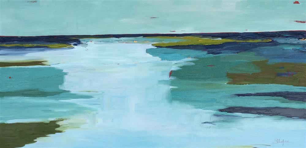 """""""Safe Harbor"""" original fine art by Janet Bludau"""