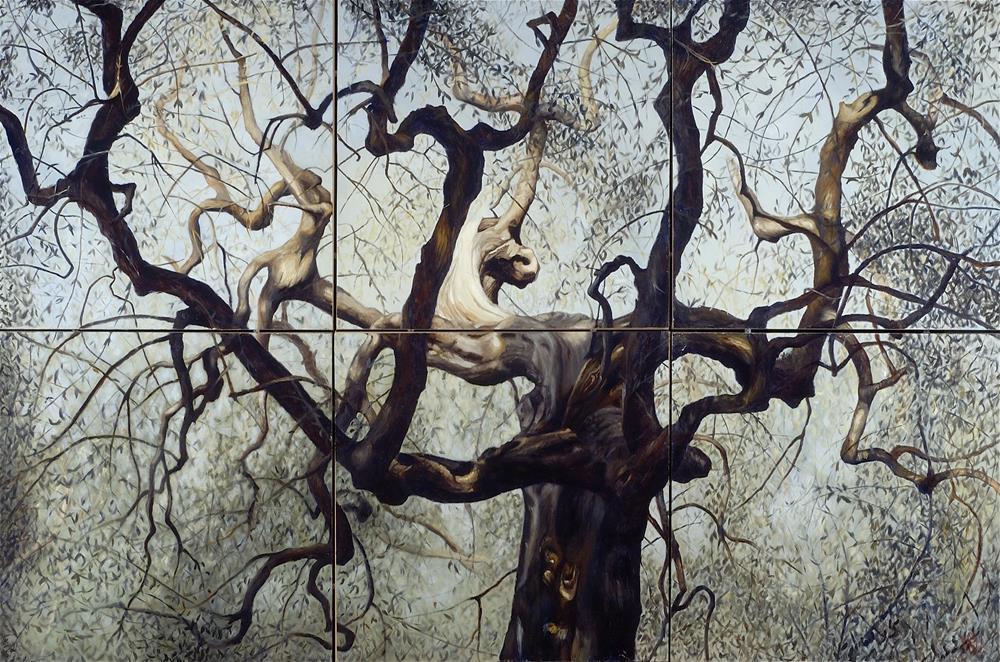 """The Olive Tree"" original fine art by Melissa  Imossi"