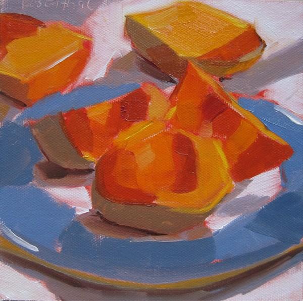"""Butternut Squash"" original fine art by Robin Rosenthal"