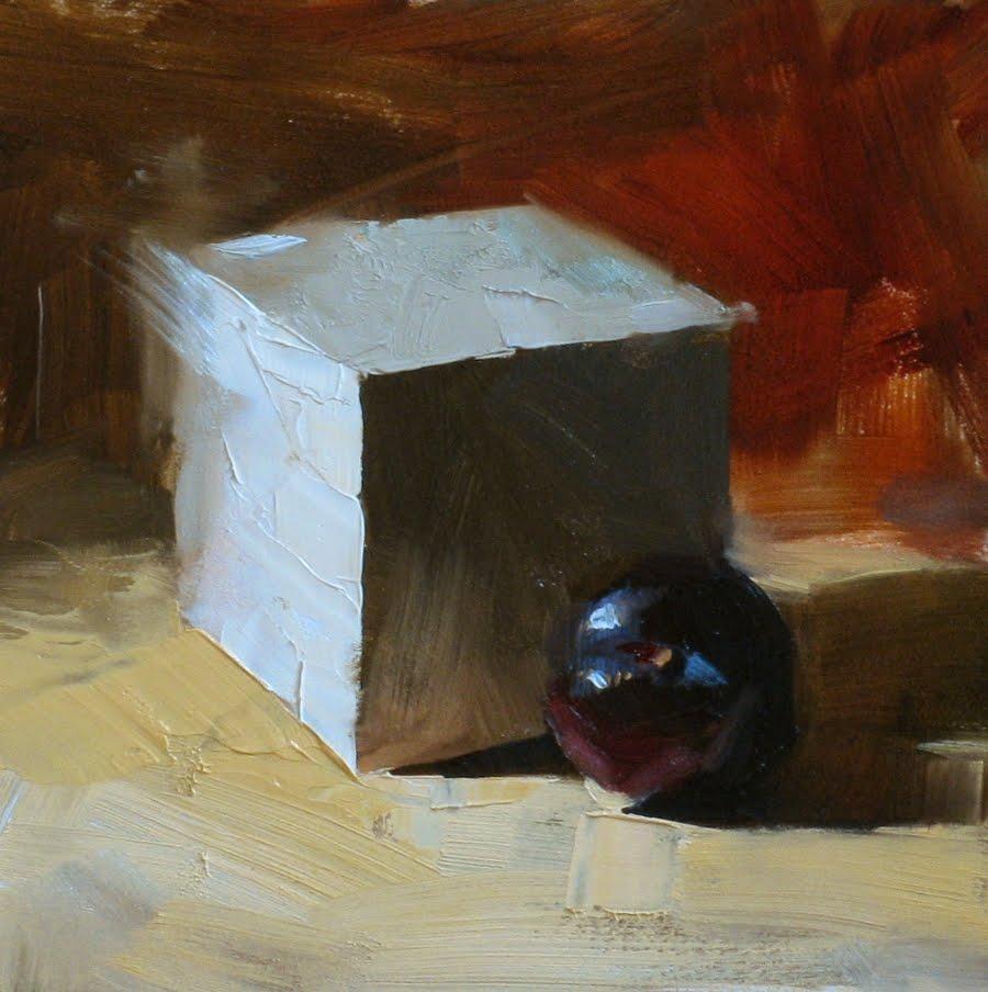 """""Away from the Heat"" original fine art by Qiang Huang"