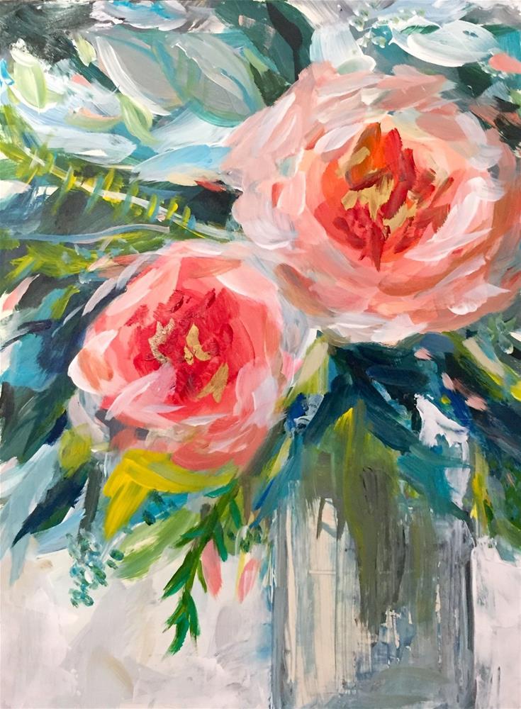 """Just the Two of Us"" original fine art by Melissa Gresham"