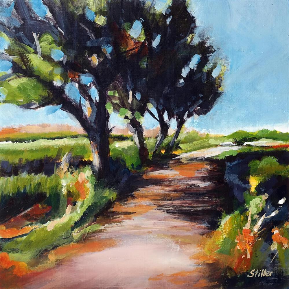 """""""3643 Field View"""" original fine art by Dietmar Stiller"""